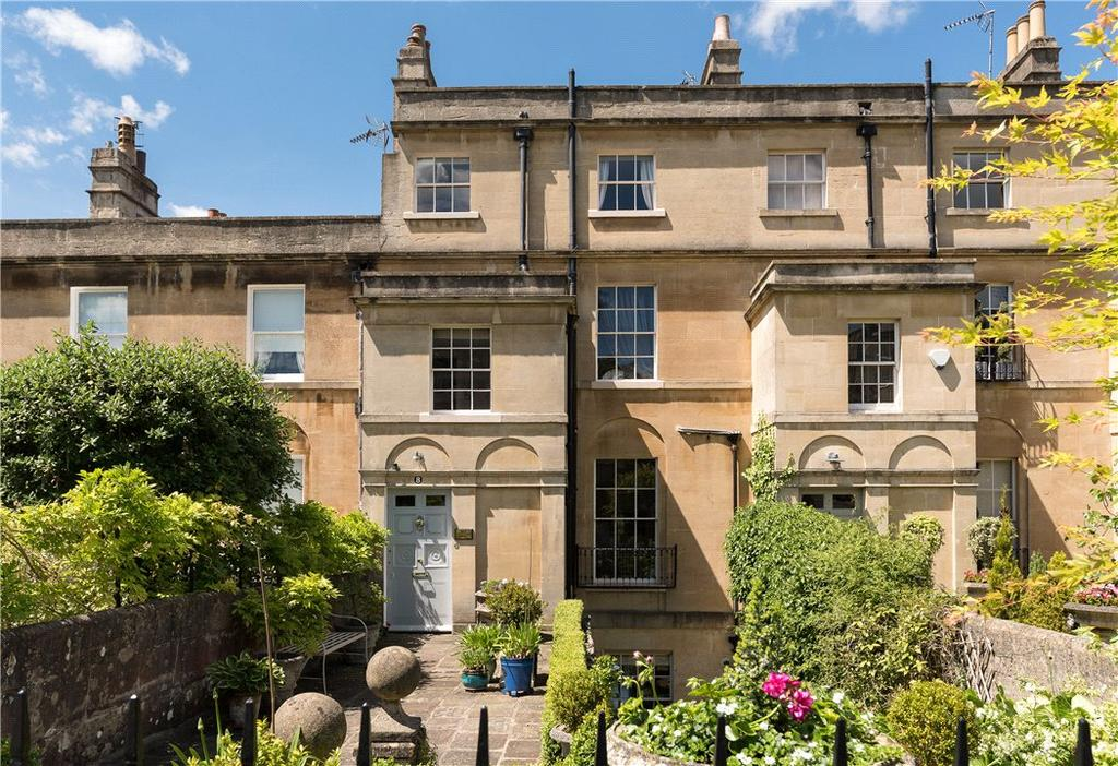 4 Bedrooms Terraced House for sale in Darlington Place, Bath, Somerset, BA2