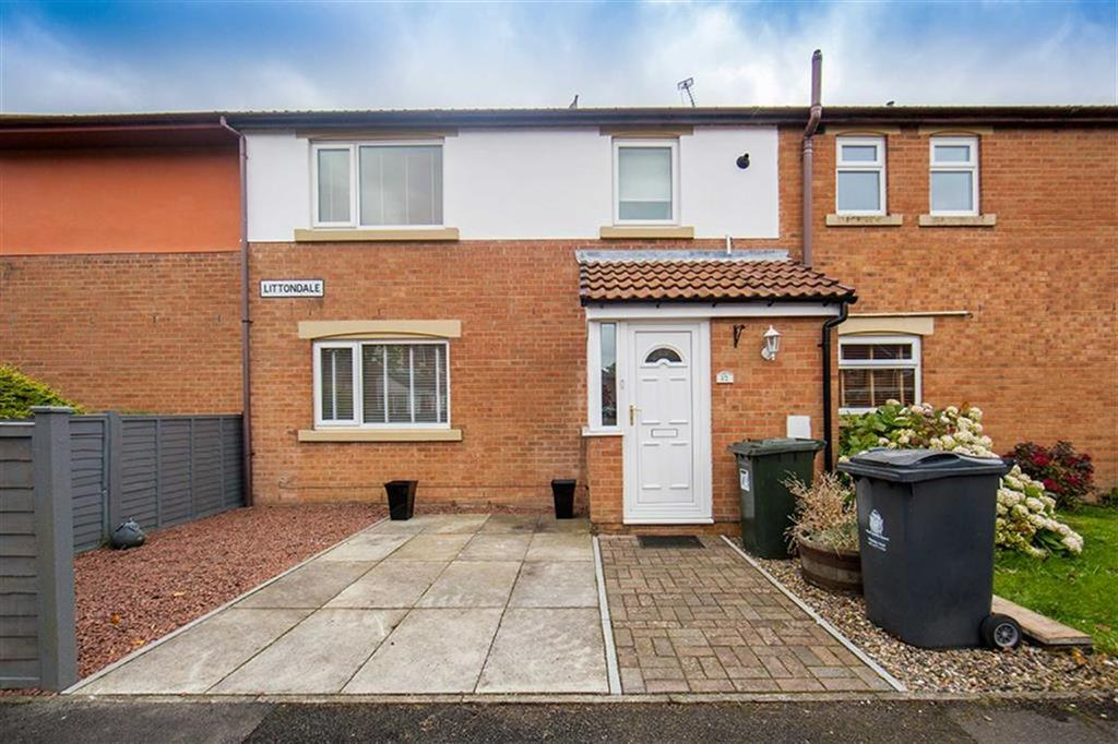 2 Bedrooms Terraced House for sale in Littondale, The Shires, Wallsend, NE28