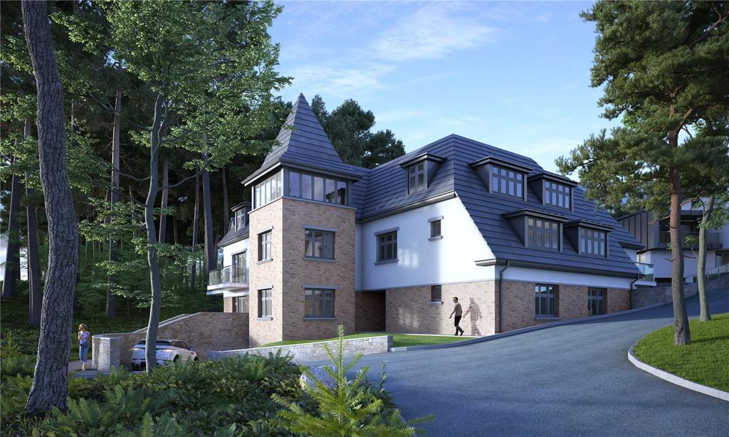 3 Bedrooms Flat for sale in Crosstrees, Lilliput Road, Poole, Dorset, BH14