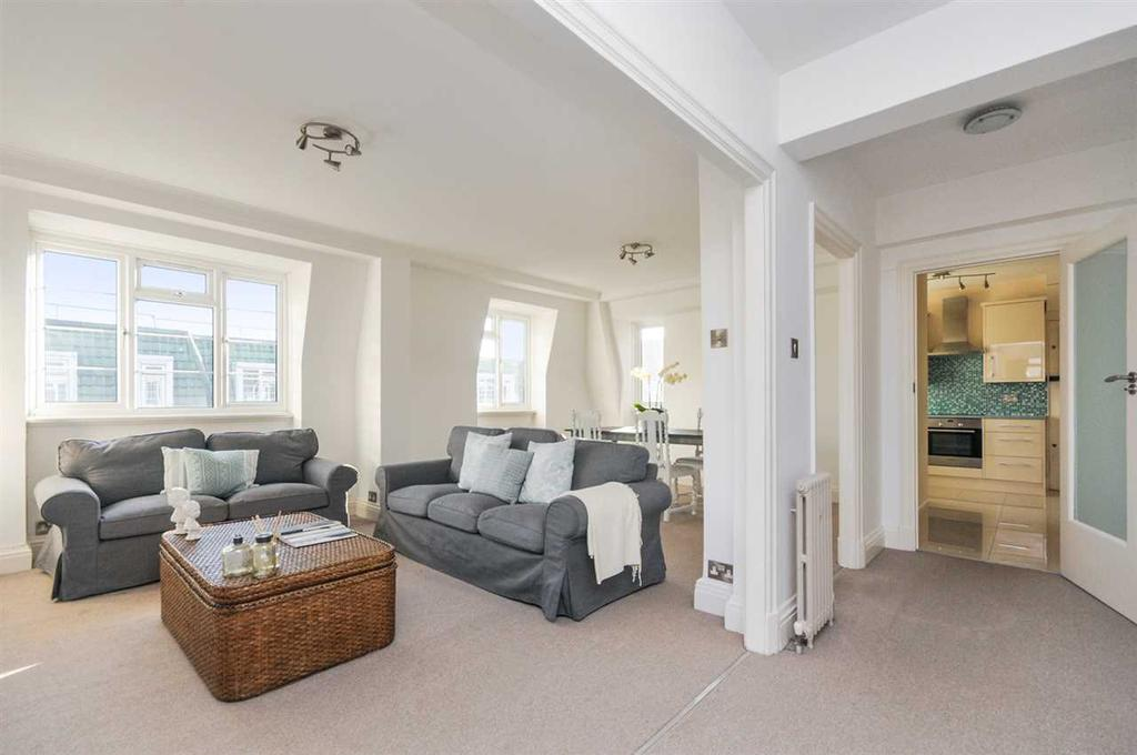 3 Bedrooms Apartment Flat for sale in Marlborough Court, Pembroke Road, Kensington W8