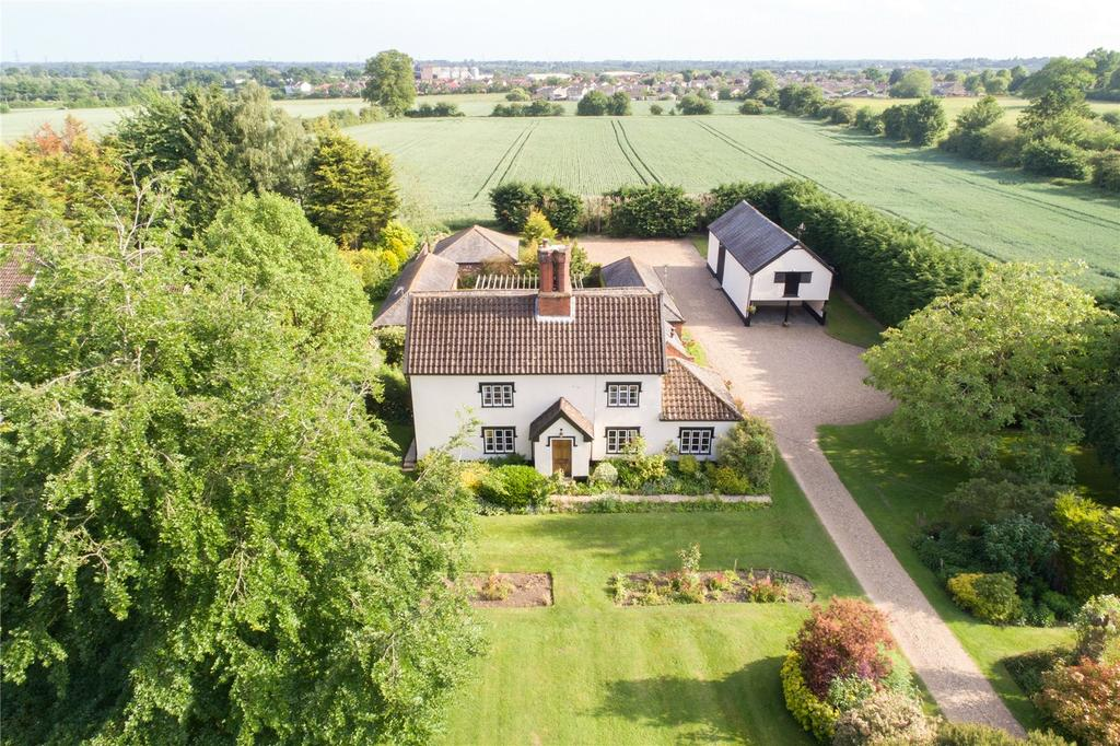 4 Bedrooms Detached House for sale in Walcot Green, Diss, Norfolk, IP22