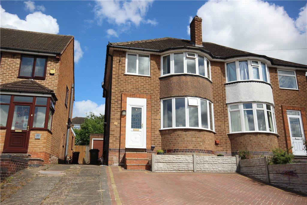 3 Bedrooms Semi Detached House for sale in Eden Road, Solihull, West Midlands, B92
