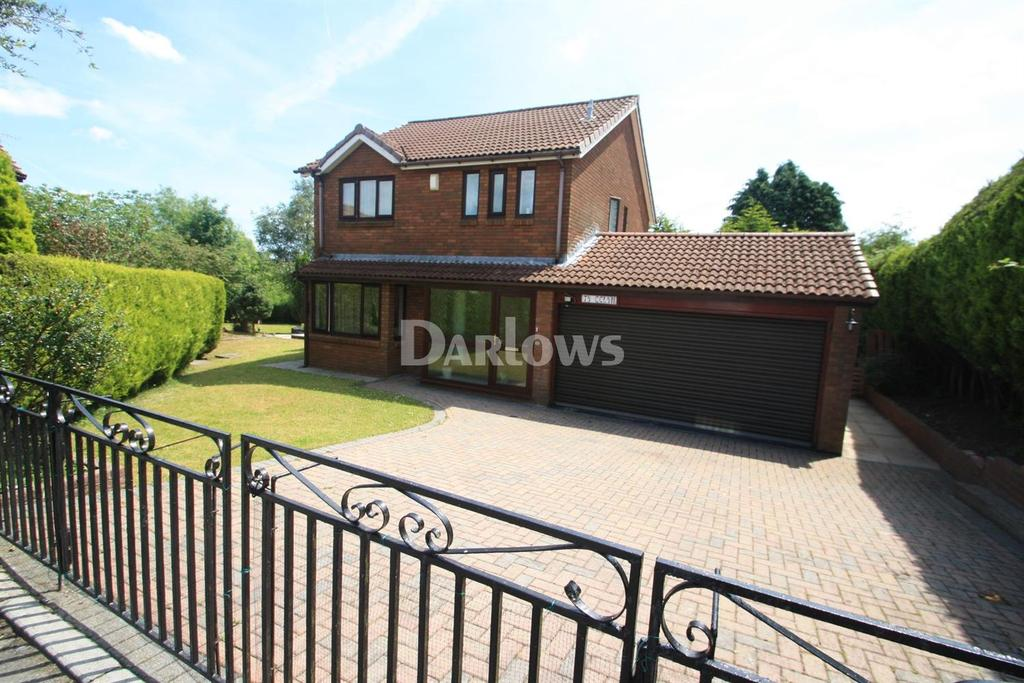 4 Bedrooms Detached House for sale in Nine Arches, Tredegar, Gwent