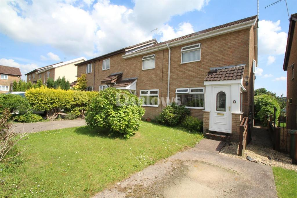 2 Bedrooms End Of Terrace House for sale in Heol-Y-Pia, Glenfields