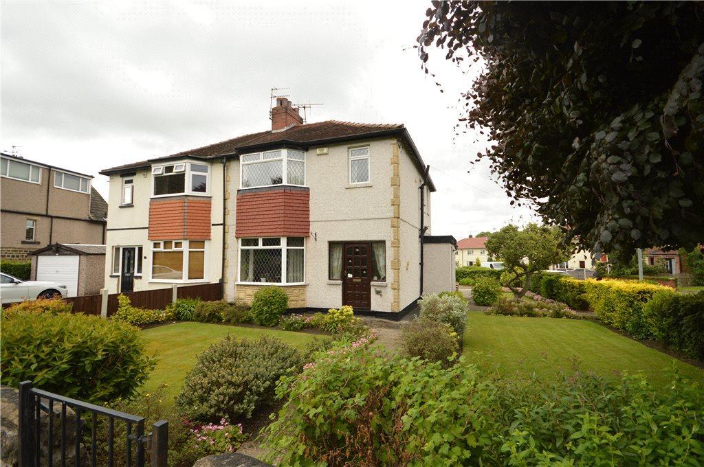 3 Bedrooms Semi Detached House for sale in Ings Lane, Guiseley, Leeds, West Yorkshire