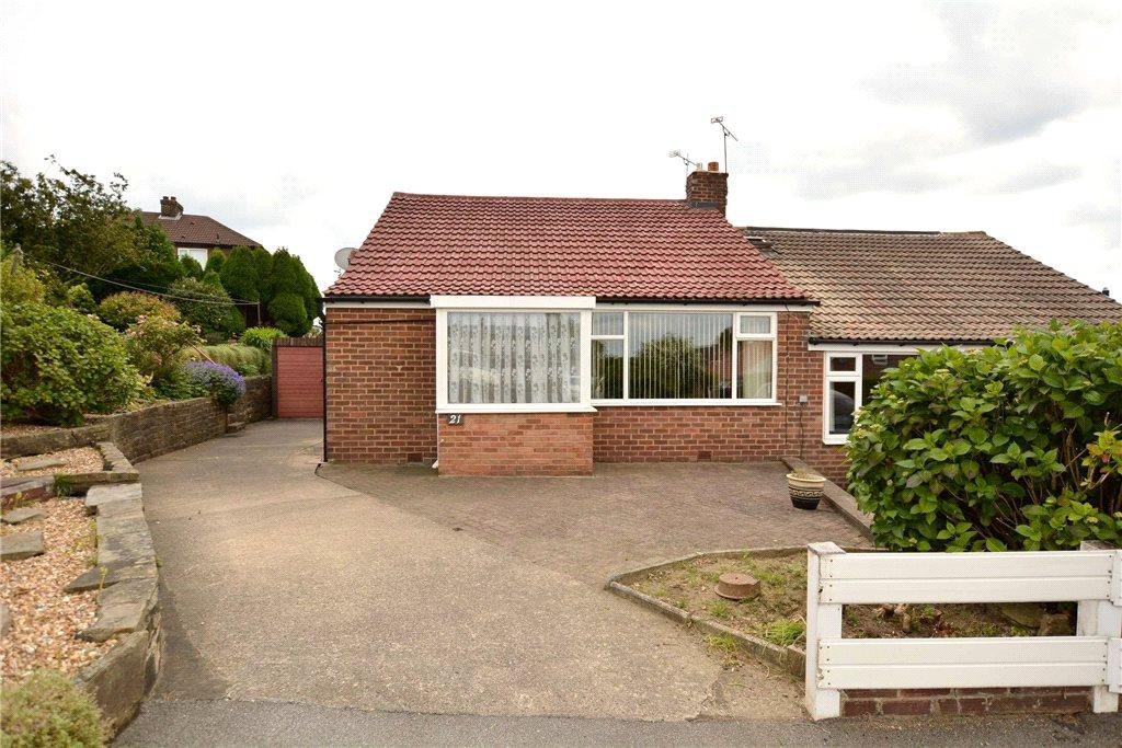 2 Bedrooms Semi Detached Bungalow for sale in Owlcotes Garth, Pudsey, West Yorkshire