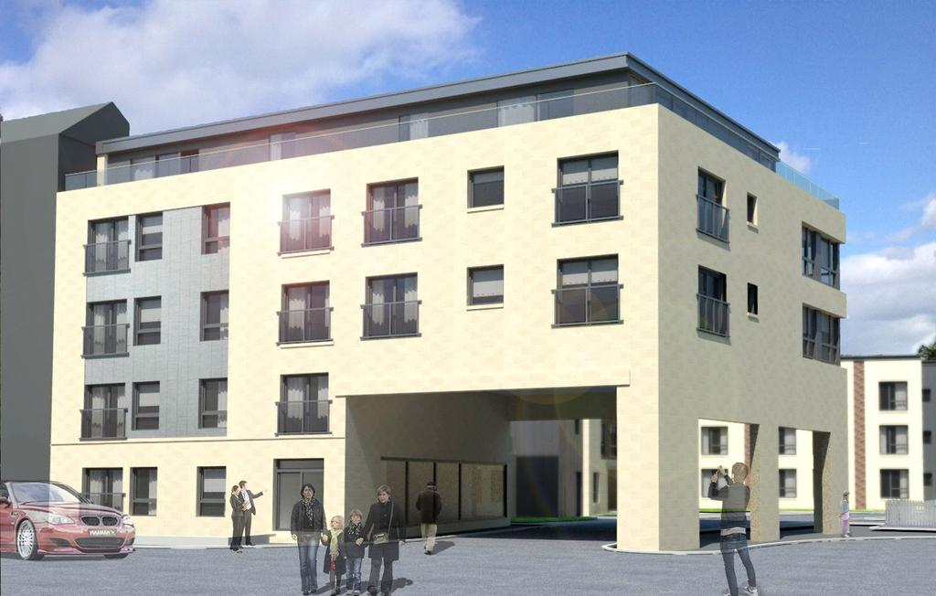 1 Bedroom Penthouse Flat for sale in 3/1, Balcarres Street, Edinburgh, Balcarres Street, Edinburgh, Midlothian