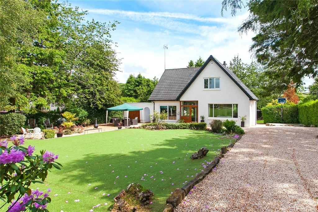 5 Bedrooms Detached House for sale in Warwick, Glasgow Road, Waterfoot, Lanarkshire