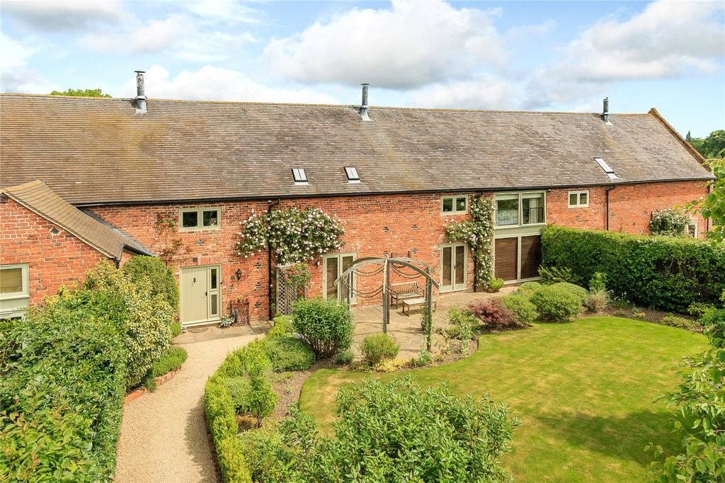 4 Bedrooms Terraced House for sale in Moat Farm Barns, Stapleton, Dorrington, Shrewsbury