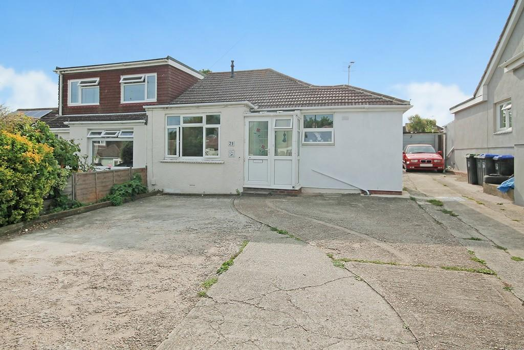 2 Bedrooms Semi Detached Bungalow for sale in Sedbury Road, Sompting, BN15