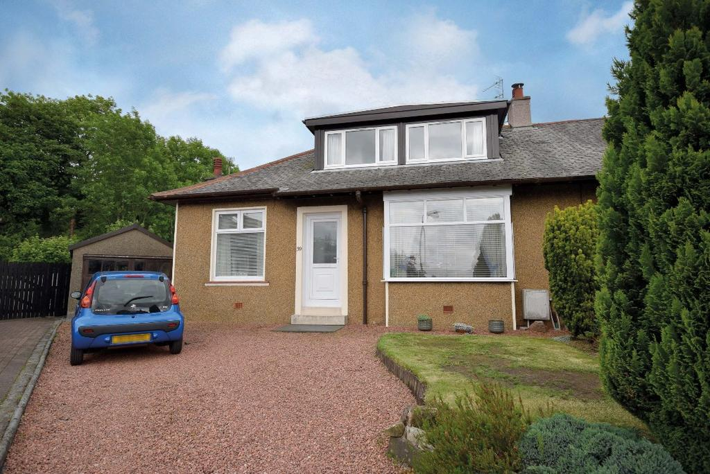 3 Bedrooms Semi Detached Bungalow for sale in Linn Drive , Netherlee , Glasgow, G44 3PT