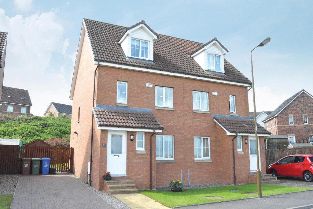 3 Bedrooms Semi Detached House for sale in Canalside Drive, Reddingmuirhead, Falkirk, FK2 0FA
