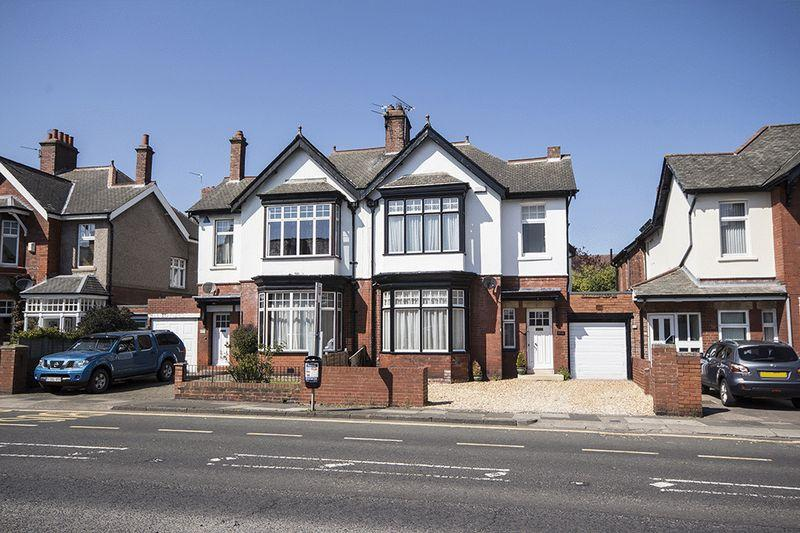 4 Bedrooms Semi Detached House for sale in Osborne Road, Jesmond