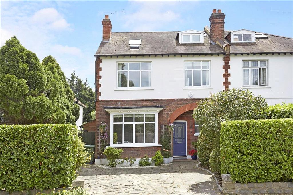 5 Bedrooms Semi Detached House for sale in Weston Avenue, Thames Ditton, Surrey, KT7