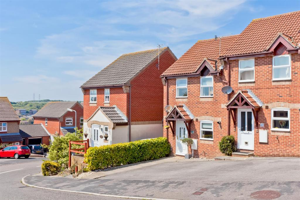 2 Bedrooms End Of Terrace House for sale in Langridge Drive, Portslade, Brighton