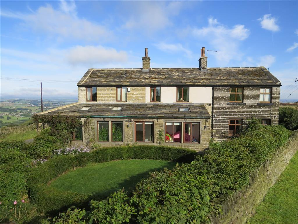 4 Bedrooms Detached House for sale in New Field End, Intake Lane, Cumberworth, Huddersfield, HD8