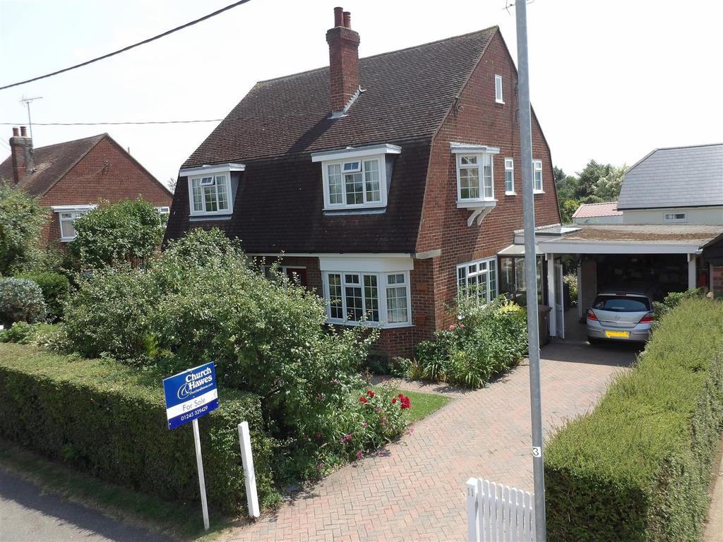4 Bedrooms Detached House for sale in Pertwee Drive, South Woodham Ferrers, Chelmsford