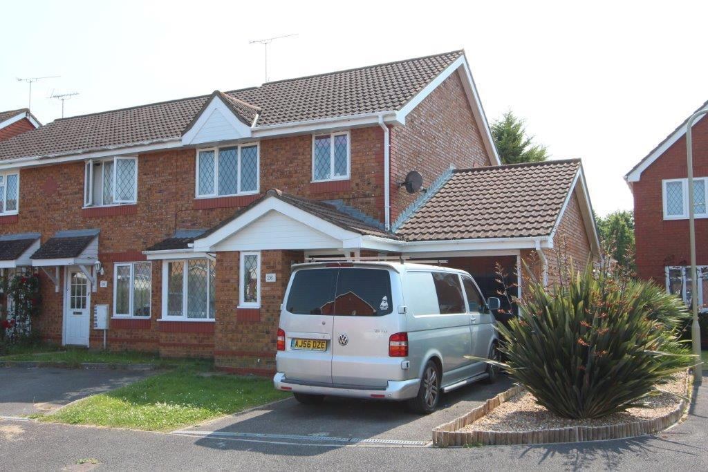 3 Bedrooms End Of Terrace House for sale in Wainwright Gardens, Grange Park SO30