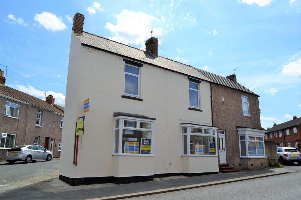 3 Bedrooms End Of Terrace House for sale in Durham Road, Spennymoor