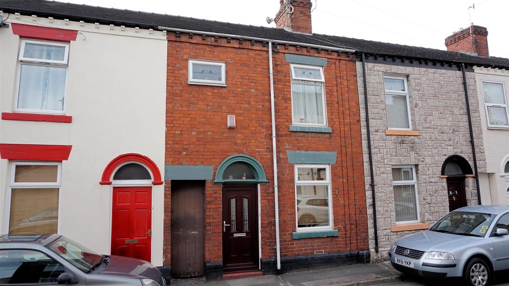 2 Bedrooms Terraced House for sale in James Street, Wolstanton, Newcastle, Staffs