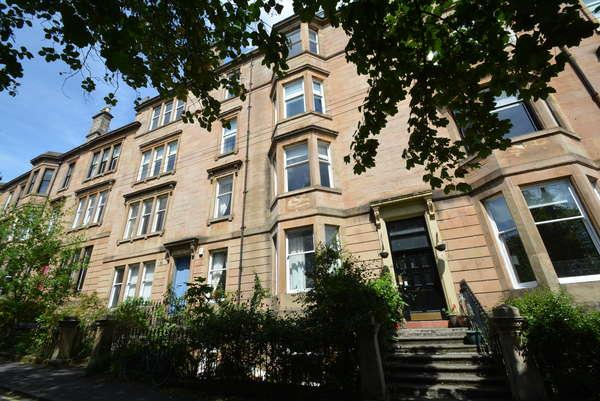 2 Bedrooms Flat for sale in 4/3, 19 Kelvinside Terrace South, North Kelvinside, Glasgow, G20 6DW