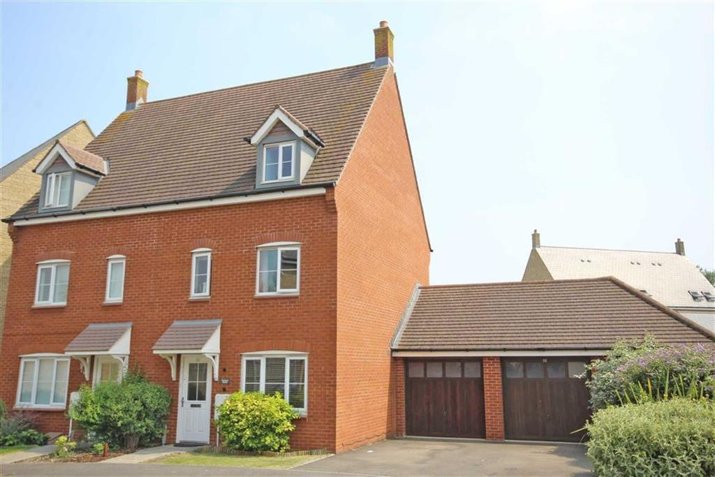 3 Bedrooms Semi Detached House for sale in Greenacre Way, Bishops Cleeve, Cheltenham, GL52