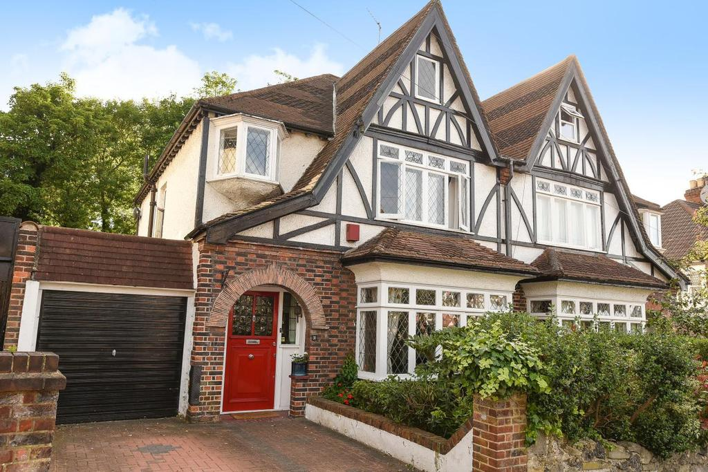 4 Bedrooms Semi Detached House for sale in Oaks Avenue, Crystal Palace