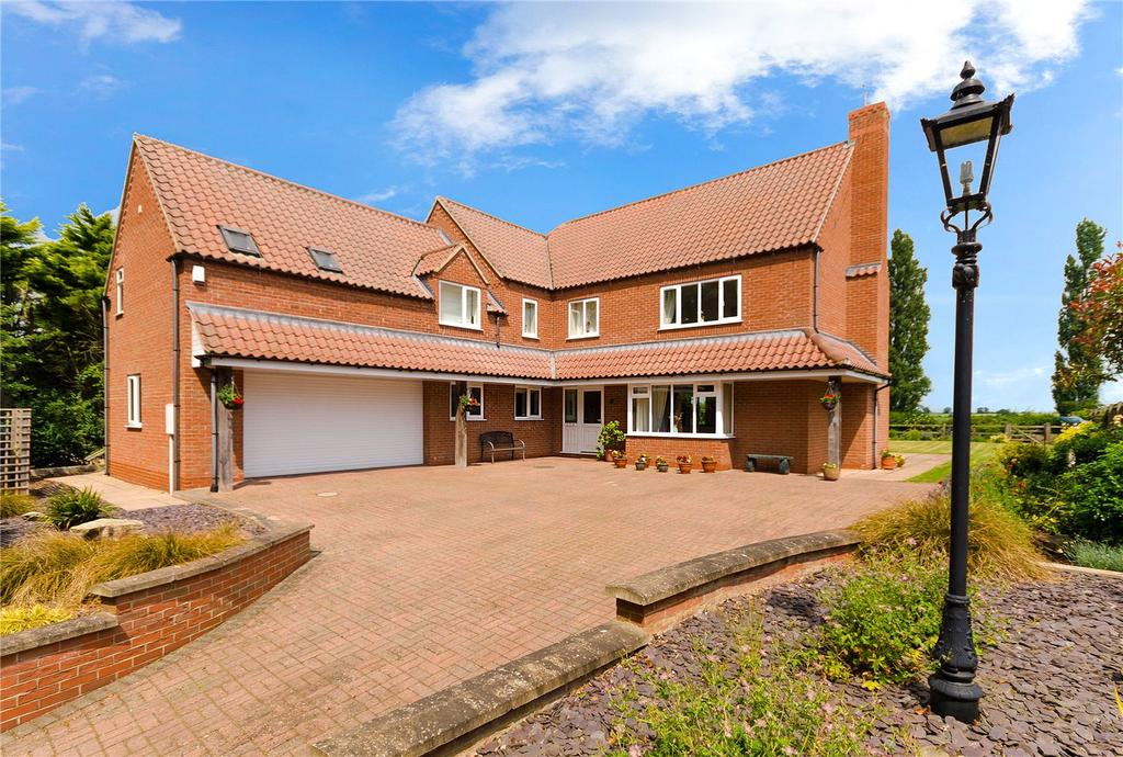 5 Bedrooms Detached House for sale in Station Road, Helpringham, Sleaford, Lincolnshire, NG34