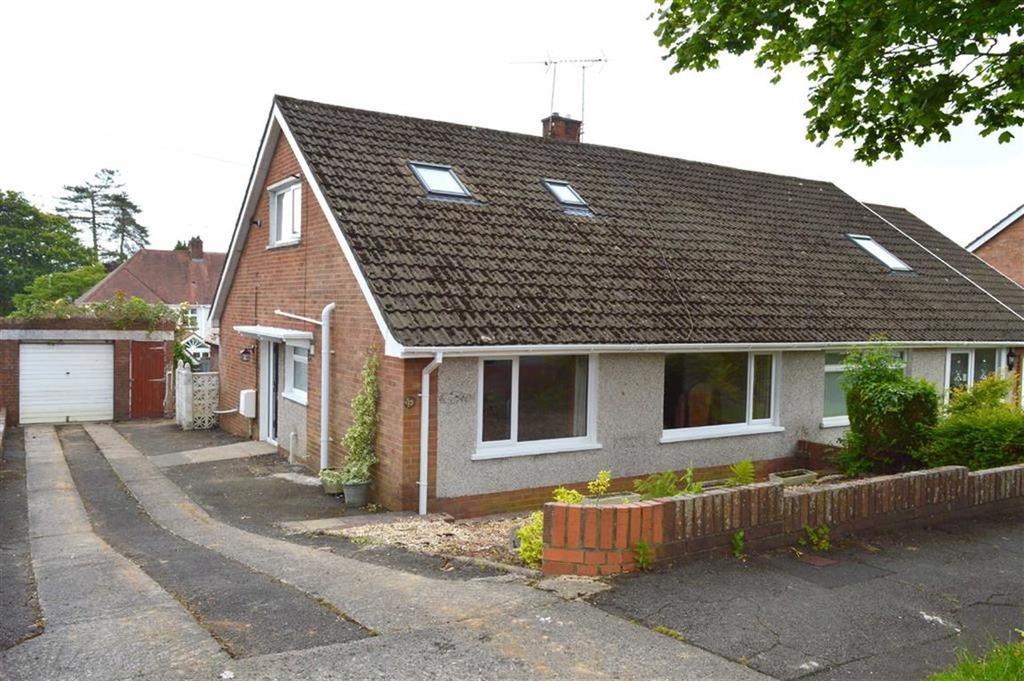 3 Bedrooms Semi Detached Bungalow for sale in Dylan Road, Killay, Swansea