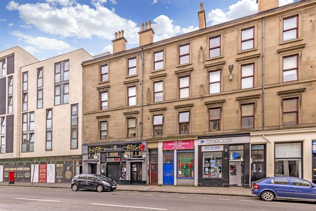 2 Bedrooms Flat for sale in Flat 3/1, 247 Dumbarton Road, Partick, Glasgow, G11
