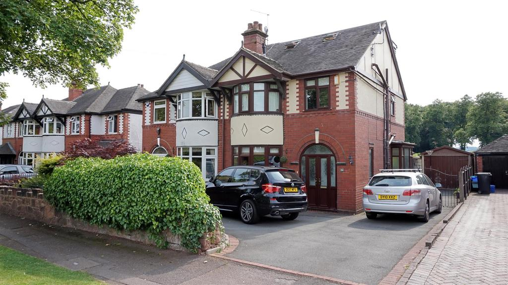 4 Bedrooms Semi Detached House for sale in Hassam Parade, Wolstanton, Newcastle, Staffs