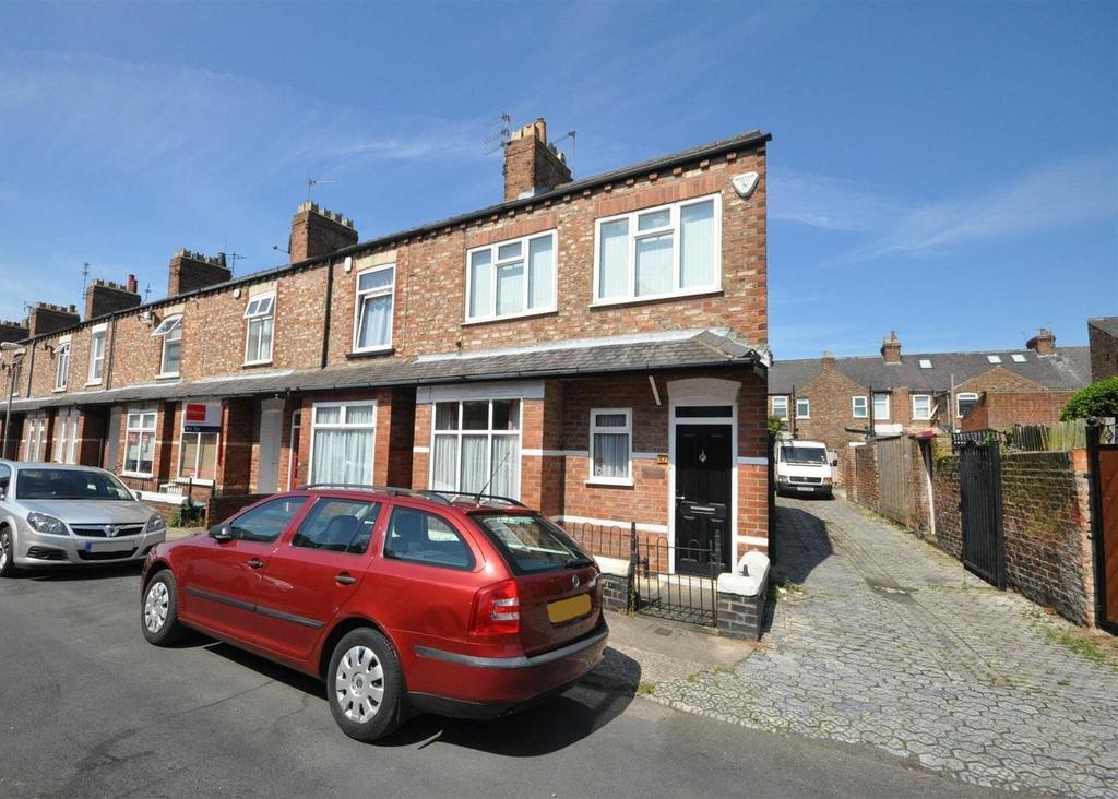 2 Bedrooms End Of Terrace House for sale in Falsgrave Crescent, Burton Stone Lane, York