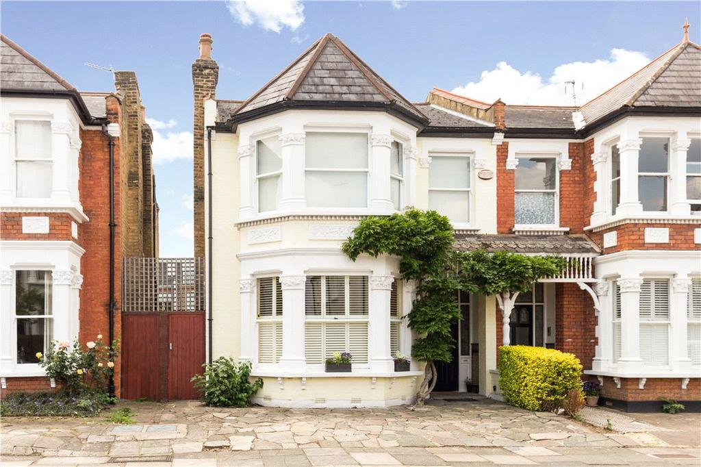4 Bedrooms Semi Detached House for sale in Cresswell Road, Richmond, East Twickenham, TW1