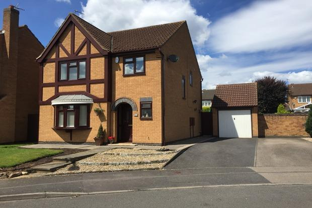 4 Bedrooms Detached House for sale in Hubbard Close, Whetstone, Leicester, LE8