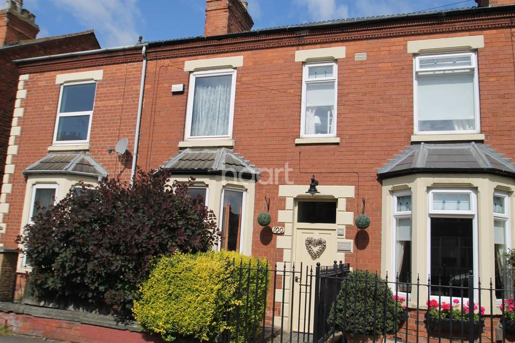 3 Bedrooms Terraced House for sale in Harlaxton Road, Grantham, Lincs, NG31 7AJ