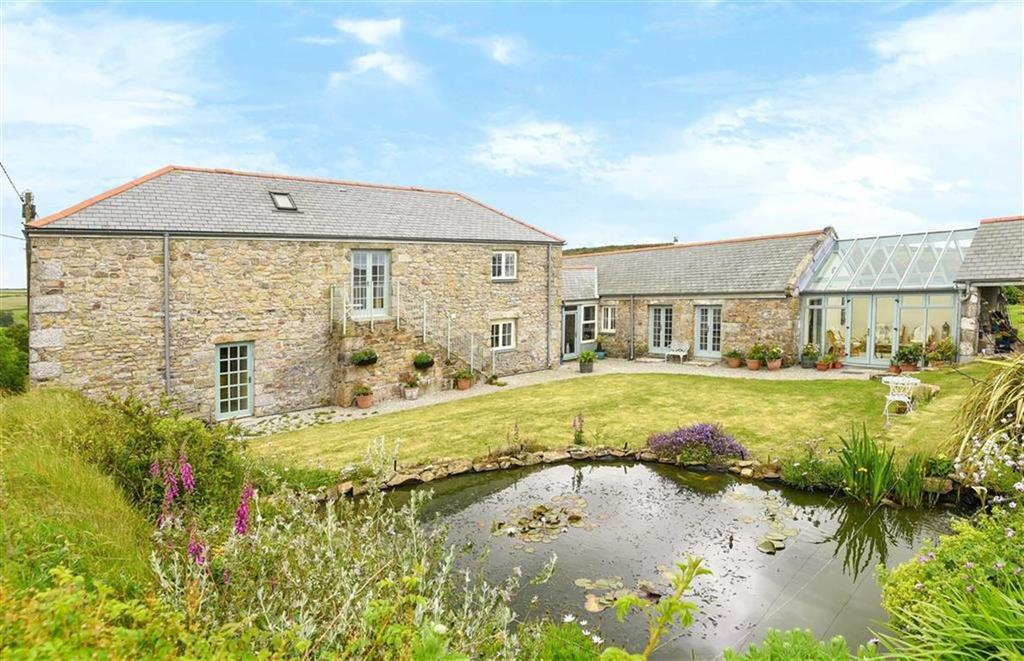 4 Bedrooms Detached House for sale in Bolenowe, Troon, Camborne, Cornwall, TR14