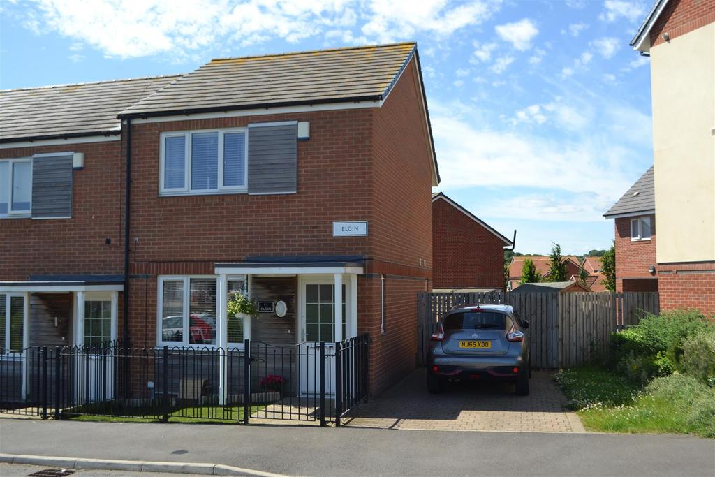 2 Bedrooms End Of Terrace House for sale in Elgin, Beckwith Green, Sunderland
