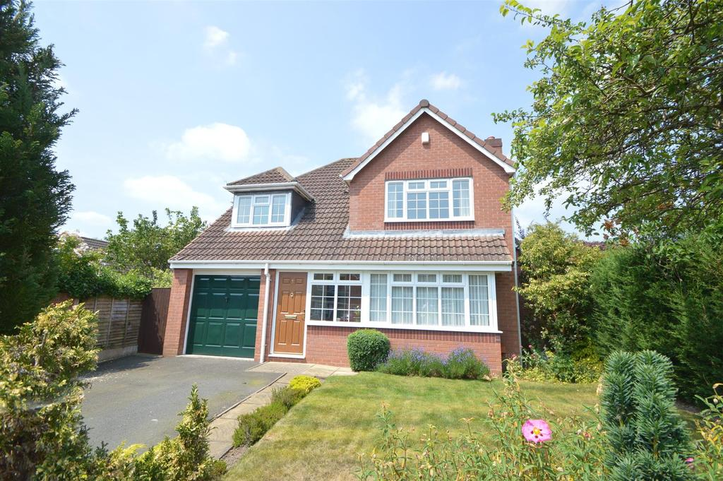 4 Bedrooms Detached House for sale in 9 Collingwood Drive, Bowbrook, Shrewsbury, SY3 5HP