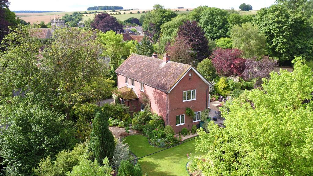 4 Bedrooms Detached House for sale in High Street, Wylye, Warminster, Wiltshire, BA12