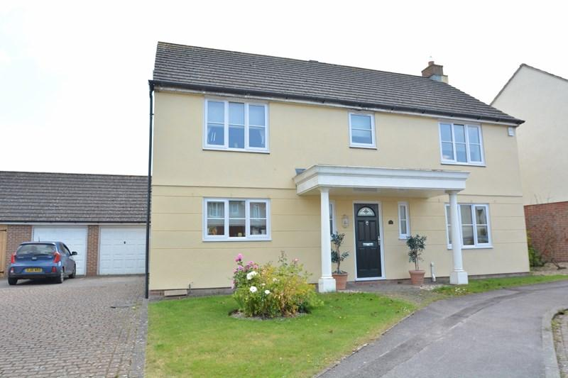 4 Bedrooms Detached House for sale in Casterbridge Lane, Weyhill, Andover