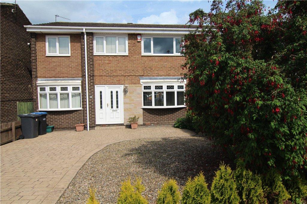 4 Bedrooms Semi Detached House for sale in Brancepeth Close, Newton Hall, Durham, DH1