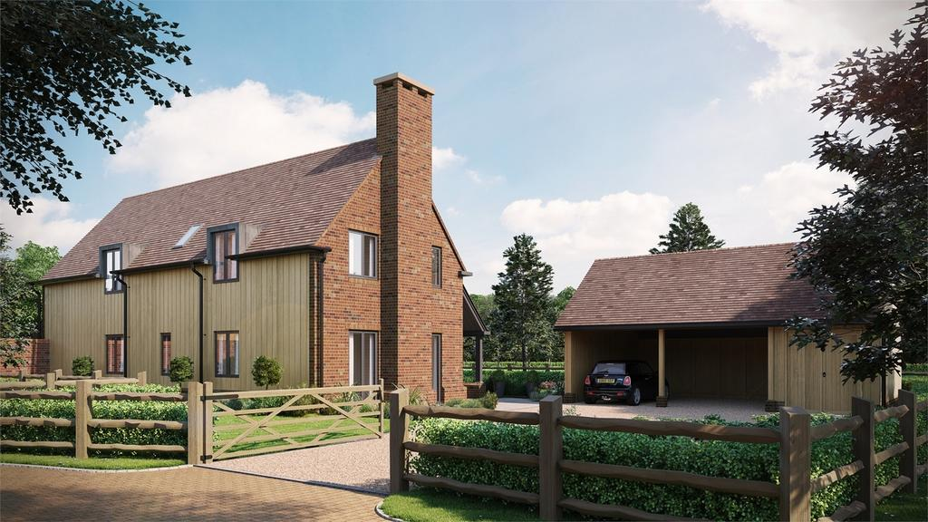 4 Bedrooms Detached House for sale in Houghton, Stockbridge, Hampshire