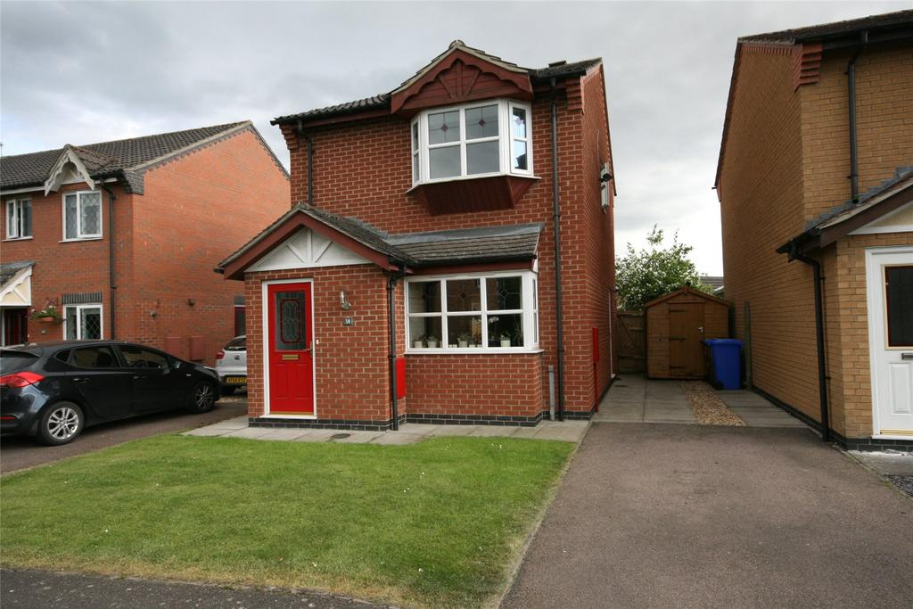 3 Bedrooms Detached House for sale in Milne Green, Swineshead, PE20