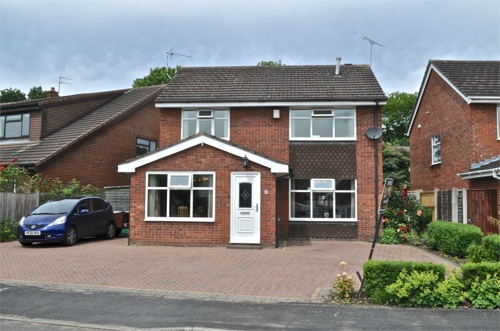 4 Bedrooms Detached House for sale in Abbots Way, Hartford, Northwich, Cheshire