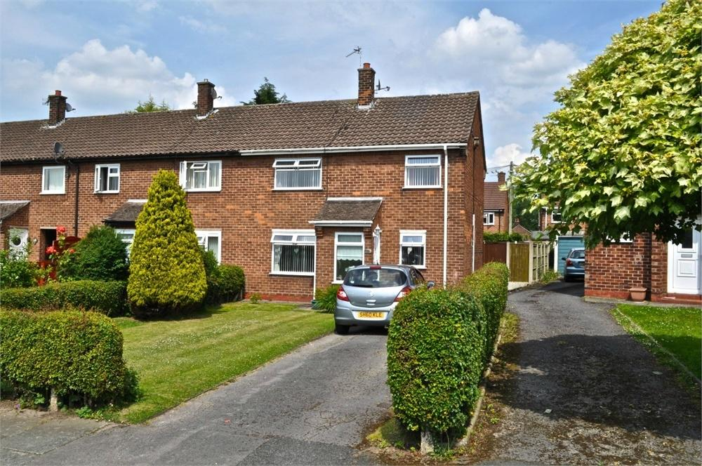 3 Bedrooms End Of Terrace House for sale in Tilstone Close, Leftwich, Northwich, Cheshire