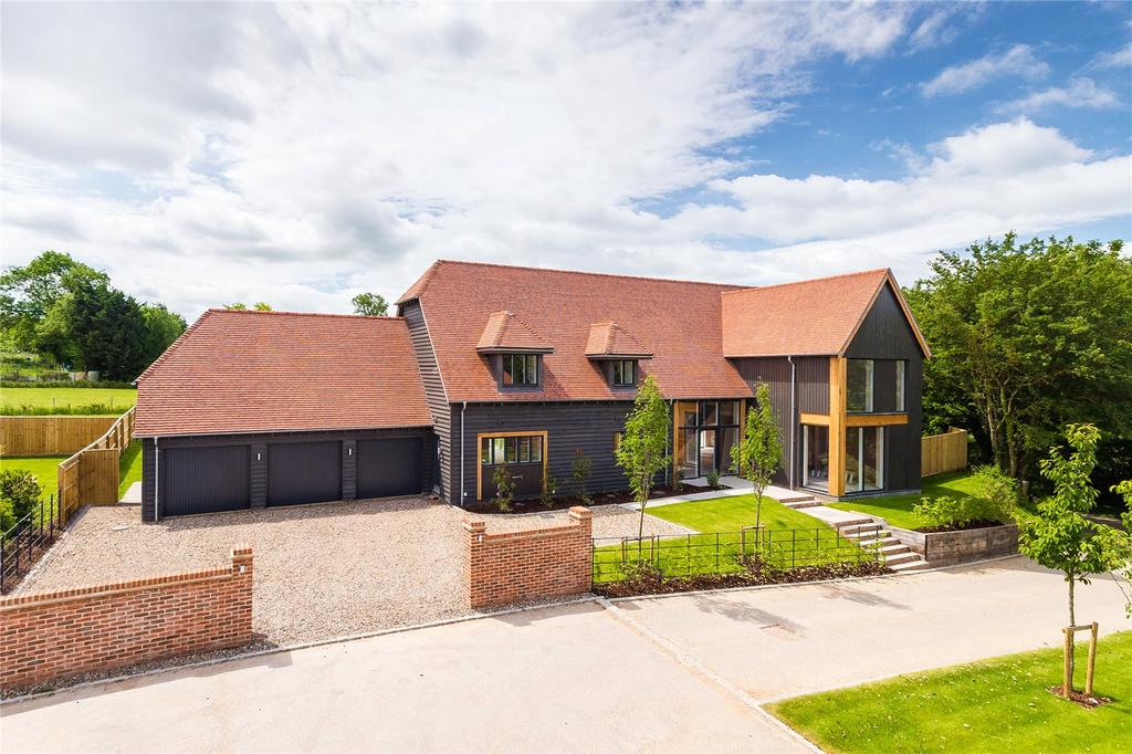 5 Bedrooms Detached House for sale in Woodbury House, Dropshort Farm, Childrey, Wantage, Oxfordshire, OX12