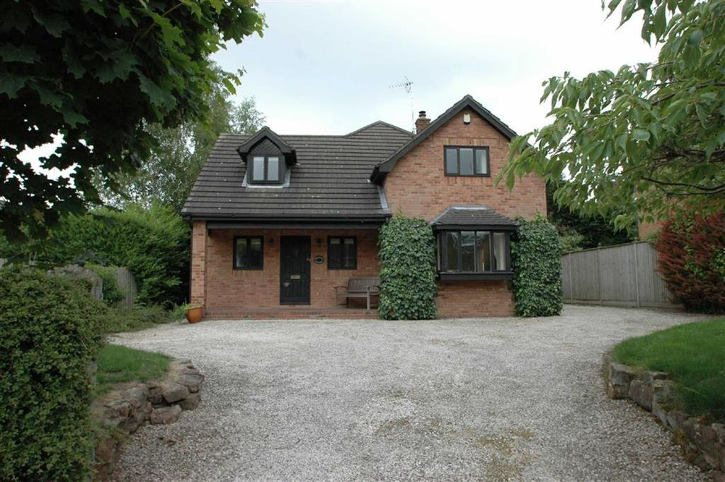 4 Bedrooms Detached House for sale in Holywell Lane, Clutton, Cheshire