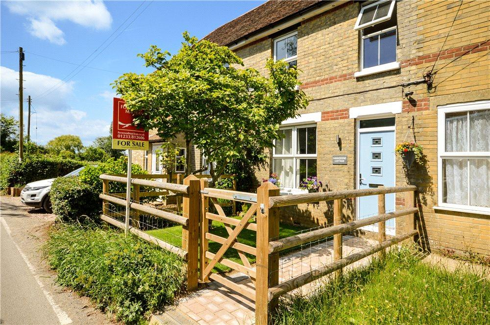 3 Bedrooms Terraced House for sale in The Street, Hastingleigh, Ashford, Kent