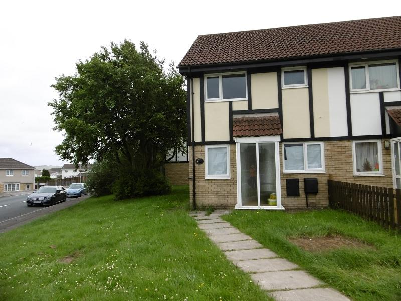 3 Bedrooms Terraced House for sale in Marigold Court, Brackla, Bridgend, Bridgend.