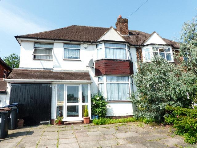 4 Bedrooms Semi Detached House for sale in George Frederick Road,Sutton Coldfield,West Midlands